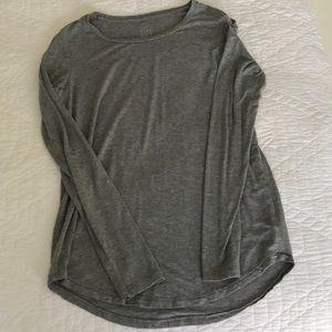 Aerie long sleeve grey shirt